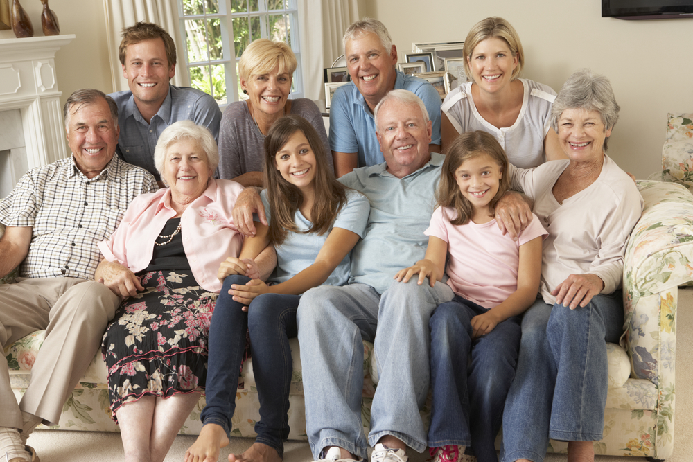 Large family in probate process who hired an experienced probate attorney